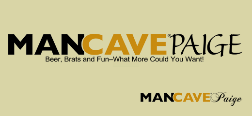ManCavePaige header & signature by Judy Smith